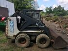 bobcat 7753 skid steer loader needs work has hyd. Leak