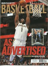 NEW CURRENT BECKETT BASKETBALL PRICE GUIDE MAGAZINE, MAY 2020 (ZION WILLIAMSON)