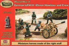 Valiant Miniatures 1/72 alemán LEFH 18 105 Mm Howitzer y tripulación # VM007
