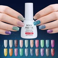 Platinum Starry UV Gel Polish Soak Off UV LED Nail Art 6/10ml BORN PRETTY Nails