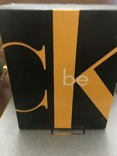 Ck Be Perfume By Calvin Klein Gift Set FOR WOMEN 1.7 oz +body wash gel 3.4 oz