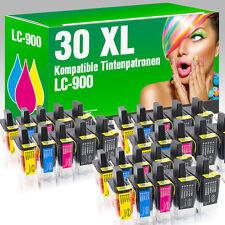 30 Druckerpatronen für Brother LC900 DCP 115 C