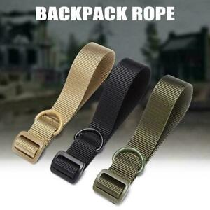 Portable Nylon Webbing Strapping Belt Adjustable Outdoor Waistband Army L1C1