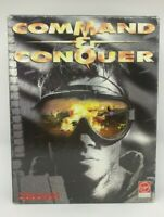 Command and Conquer PC CD-ROM Westwood Studios French Version Francais Big Box