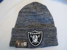 NEW ERA NFL BEVEL TEAM SPORT CUFFED KNIT HAT CAP OAKLAND RAIDERS BEANIE NWT