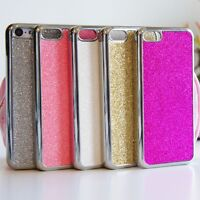 Glitter Bling Shiny Hard Shell Case Sparkle Cover for iPhone 4 4S 5 5S 5C