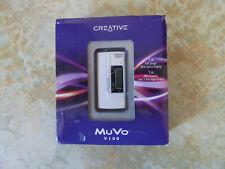 CREATIVE MuVo V100 (1 GB) DIGITAL MEDIA PLAYER With Lyrics Display - White - NEW