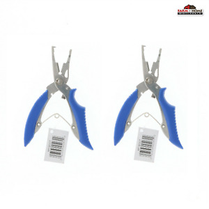 (2) Mustad Braid Cutters with Split Ring Pliers ~ NEW
