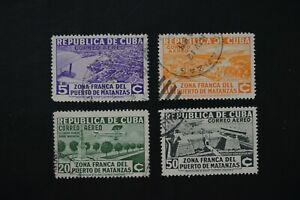 Northern Caribbean Sea Island #c18-21 1936 VF used set 2020 cv$15.40 (v141)