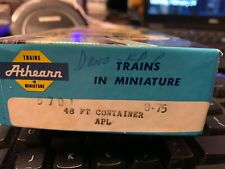 HO Athearn APL  2-container set;  nice;