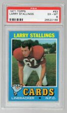 1971 Topps #93 Larry Stallings PSA 6 EX-MT St. Louis Cardinals