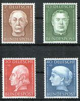 Bund 200 - 203 postfrisch Helfer der Menschheit 1954 Michel 55,00 Euro MNH