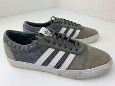 Adidas Skateboarding Adi Ease Men's Shoe Size 11.5 Grey White CQ1063