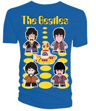 The Beatles T-Shirt Yellow Submarine Ladies Skinny Fit Small Brand New with Tags