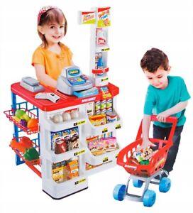 Kids Supermarket Set Superstore Shop Toys Supermarket 24 PCS Christmas Present