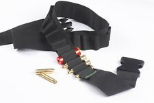 Tactical 25 Shell Cartridges belt Shotgun Sling Rifle gun Shell Holder 12ga 20ga