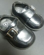 Used Look  New Circo Black Boys / Baby / Toddler Dress Shoes - Size 4