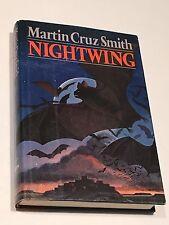 MARTIN CRUZ SMITH SIGNED Nightwing BOOK 1977 First