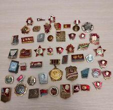 Badges comunism lenin Russia political badge medal USSR October Red