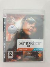 Singstar pop 2009 new precintado nuevo new ps3 play station 3 pal españa
