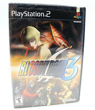 PS2 Bloody Roar 3 Video Game, Rare Factory Sealed Sony Playstation 2 Black Label