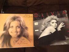 OLIVIA NEWTON-JOHN (2) First Impressions UK Import VINYL LP EMI & NEW SOUL KISS!