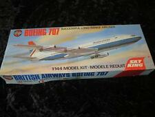 AIRFIX 1/144 Model Aircraft Kit BOEING 707 Sealed In Type 5 Box 1970s Excellent