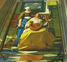VTG Milton Bradley Jigsaw Puzzle~Love Letter~Vermeer~1000 pc Museum Art Series