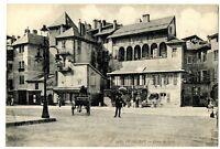 CPA 73 Savoie Chambéry Place de Lens animé