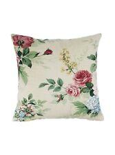 Handmade Vintage New Sanderson Rosamund Floral Fabric Cushion Cover