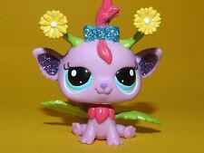 P1) Littlest Pet Shop LPS - Purple Fairy Lila Fee Elfe #2612