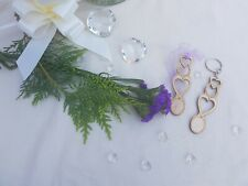 Gorgeous hand crafted Welsh Love Spoons. Ideal wedding favours, table settings.