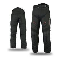 Mbsmoto Tessuto Impermeabile Resistente Cordura Moto Scooter Pantaloni