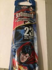 X Kites 23 Inch SkyDiamond DC Comics Superman Poly Diamond Kite Free Shipping