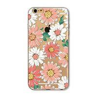 Coque souple avec impression Fantaisie Fleurs pour iPhone 6 / 6 S