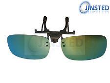 MIrrored Polarised Polarized Flip Flip-Up Clip On Clip-On Sunglasses ACP005