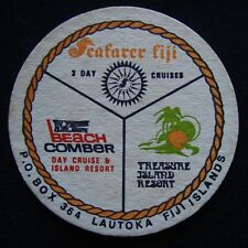 Seafarer Fji Beach Comber Cruise Treasure Island Resort Lautoka Coaster (B308)