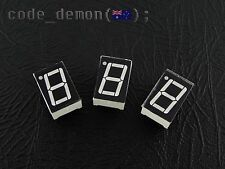 "7 Segment Display LED Red 0.5"" Common Anode (x3) - Arduino / AVR / Raspberry Pi"