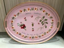 Vintage Hand Painted French Decorative Tole Tray