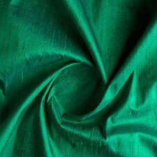 2.5 Yard Green Dupioni Silk Fabric Dupion Silk Free Shipping