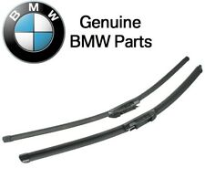 "For BMW E60 E61 E63 E64 5-Series 04-10 Front Wiper Blade Set-23""/24"" Genuine"