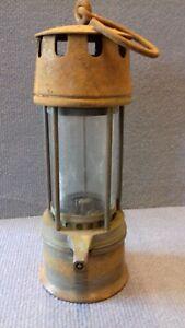 Lampe de mineur fabrique LIEGEOISE