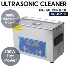 Commercial 4l Ultrasonic Cleaner Industry Heated Heater Withtimer Jewelry Glasses