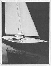 Ariel RC Sailboat Model Boat Ship Plans, Templates, Instructions