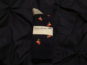 Old Navy: Men's Crew Socks / One Pair / Pink Flamingo's / NWT