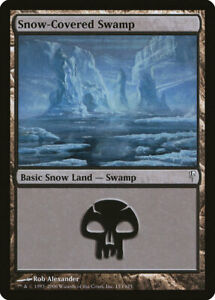Snow Covered Swamp - Magic the Gathering MtG
