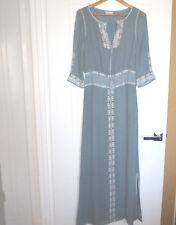 TORY BURCH silk maxi dress Caftan .Size Small