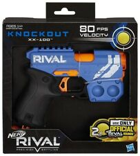 Nerf Rival ~~~ Knockout XX-100 ~~~~ TEAM BLUE - FAST POST ON HAND AUSSIE STOCK
