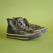 Converse All Star Brown Leather Sneakers Trainers Unisex UK 6 EUR 39 US 6/8