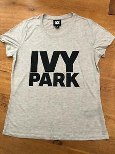 IVY PARK by Beyonce - Ladies Light Grey T-Shirt - BNIP